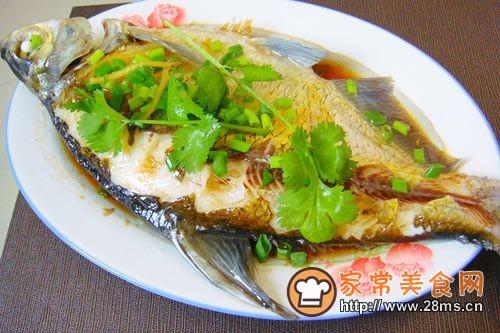 湖北家乡菜--清蒸武昌鱼的做法