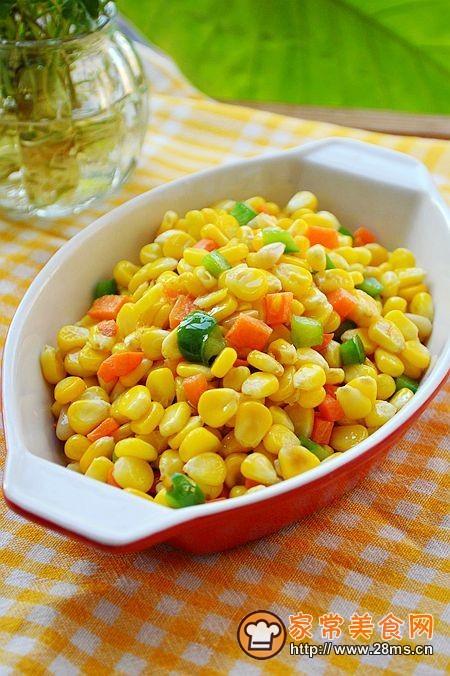 黄金万两~~~~~~松籽玉米的做法