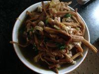 黄花菜肉粒汤的做法步骤11