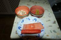 三文鱼炒三丁的做法步骤1