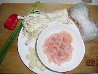 家常快手菜金针粉丝蒸虾的做法_怎么做家常快