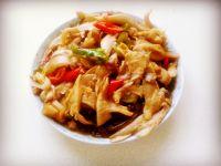 蘑菇粉条炒五花肉的做法步骤14