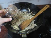 肉末炒菜雹干的做法步骤10