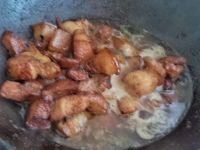 红烧肉熏鸡蛋烩大白菜的做法步骤5