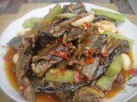 青笋红烧鳝鱼的做法步骤14