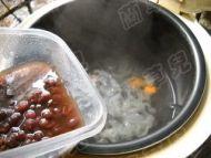 红豆南瓜银耳羹的做法步骤7