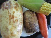 莲藕淮山猪骨汤的做法步骤2
