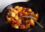 萝卜烧肉的做法步骤5