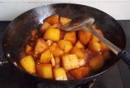 萝卜烧肉的做法步骤9