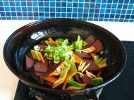 辣椒炒猪血的做法步骤5