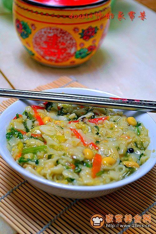 河南美食-【小米糊涂面】的做法