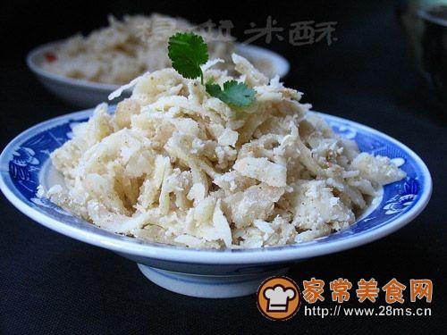 教你做筋道好吃的特色小吃――陕北洋芋擦擦的做法