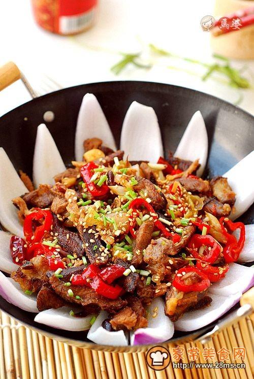 西北菜-----平锅羊肉的做法