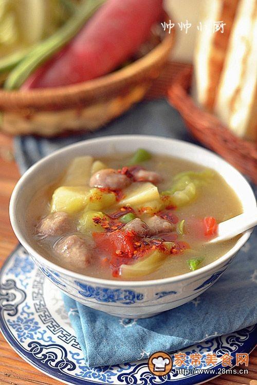 多图详解西安人气早餐-【西安肉丸胡辣汤】的做法