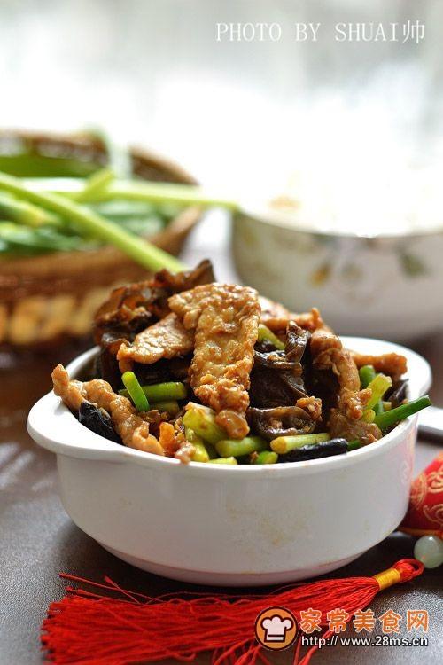 不简单的家常菜【山西过油肉】的做法