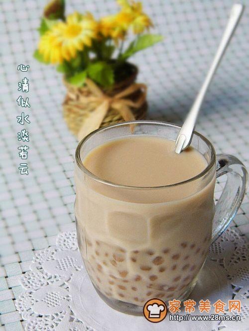 微波炉也能煮西米-――――――――【珍珠奶茶】的做法
