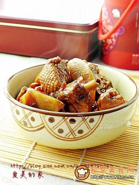 冬季进补的台式滋补菜------姜母鸭的做法