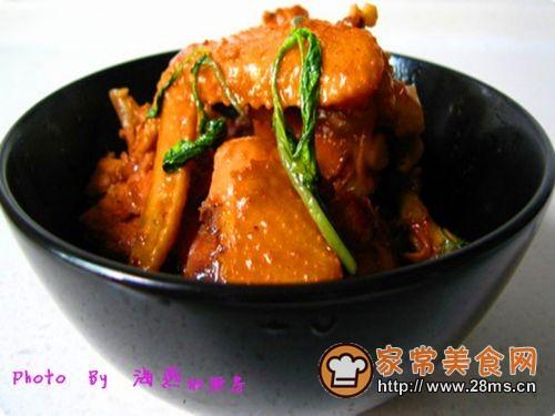 主妇独家秘制台湾经典美味--台式三杯鸡的做法