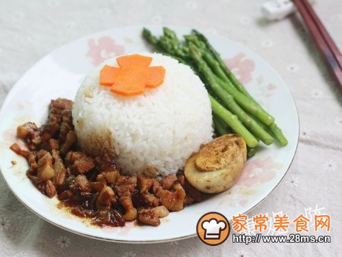 台式卤肉饭的做法