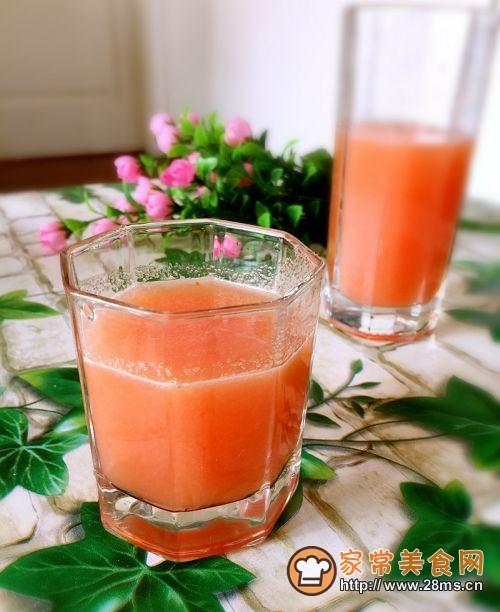 西红柿梨汁的做法