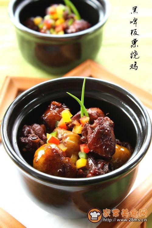 【黑啤板栗烧鸡】老少皆爱的家常菜的做法
