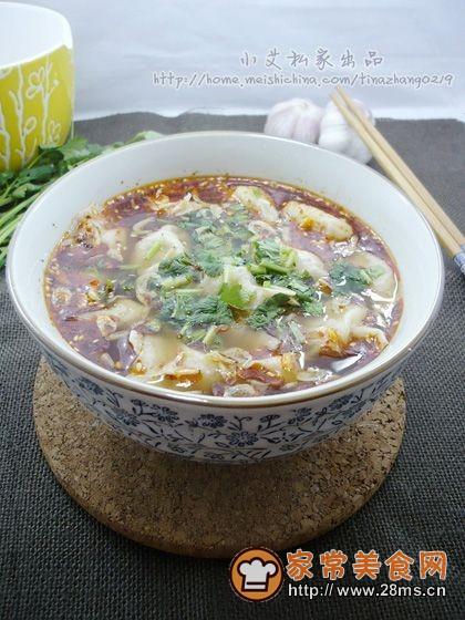酸汤水饺的做法