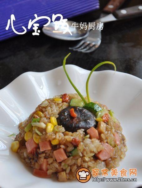 【美食家主题赛--第四季】 八宝饭(咸味版)的做法