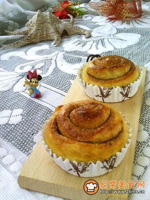 桂皮面包卷的做法