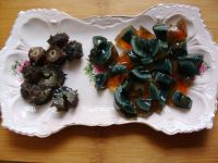 海参皮蛋瘦肉粥的做法步骤5