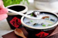 海参皮蛋瘦肉粥的做法步骤12