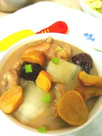 板栗炖鸡汤的做法步骤9