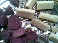 山药紫薯泥的做法步骤3