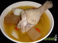 山药酸萝卜老鸭汤的做法步骤11