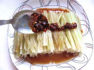 简单小凉菜凉拌莴苣的做法