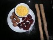 山药红枣玉米羹的做法步骤1