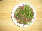 黄瓜熘猪肝的做法步骤3