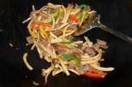 三丝牛肉的做法步骤5