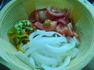 牛肉炒果条的做法步骤4