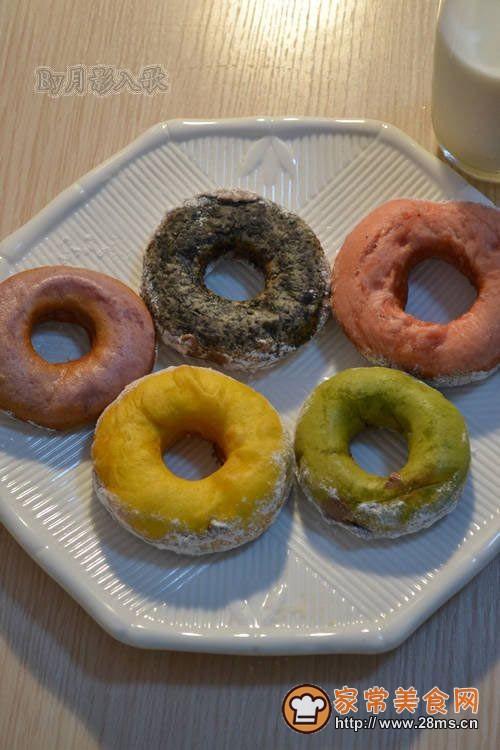 奥运五环甜甜圈----为中国加油,为奥运喝彩!!的做法