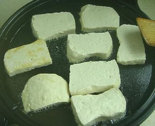 家常鸡丝炒豆腐的做法
