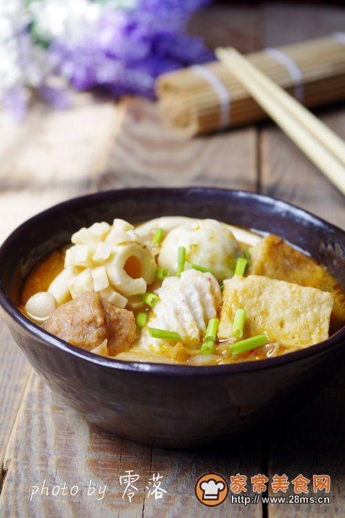 韩式辣白菜丸子汤的做法