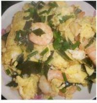 海带虾仁炒滑蛋的做法步骤9