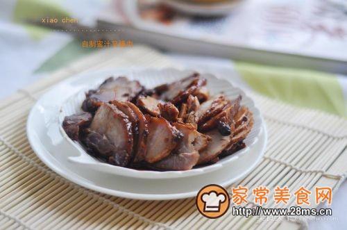自制蜜汁叉烧肉的做法