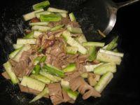 丝瓜炒猪腰的做法步骤4
