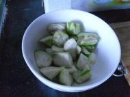 豆腐丝瓜汤的做法步骤3