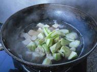 豆腐丝瓜汤的做法步骤6