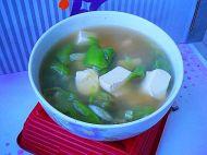 豆腐丝瓜汤的做法步骤8