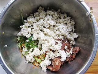 三鲜豆腐饼的做法