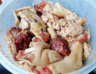 红烧猪蹄(高压锅简易版)的做法步骤:4