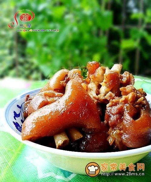红烧猪蹄(高压锅简易版)的做法
